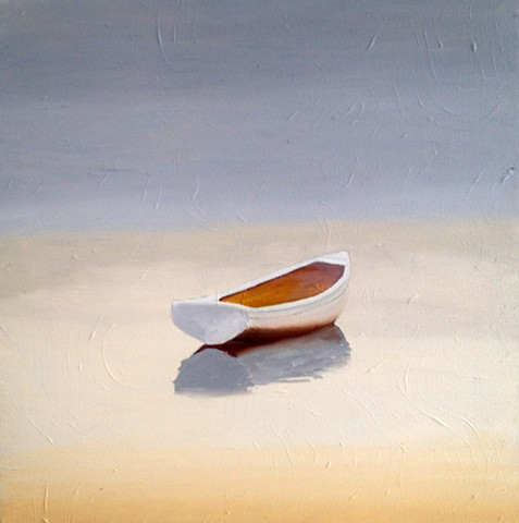 Beached Dinghy