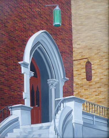 East Entrance, Kirkland Hall, Vanderbilt University, Nashville, TN