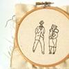 Stitched Work