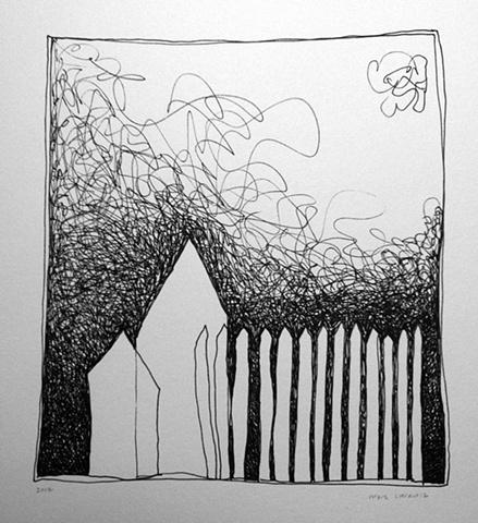 House & Fence