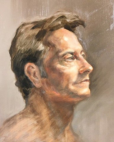 Profile in Gray