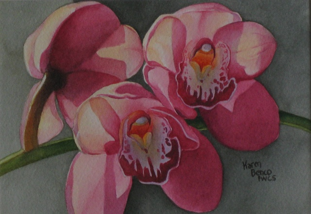 Orchid Pink at Home-Framed