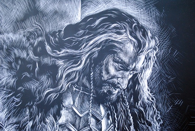 Detail Thorin II Oakenshield, son of Thráin
