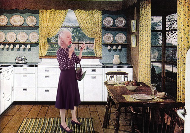 1946 Mid Century Crane Kitchen  (Putting on Lipstick)