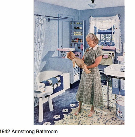 1942 Bathroom for baby 1