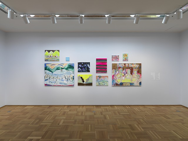 """""""The Gallery"""" in the exhibition Snow."""
