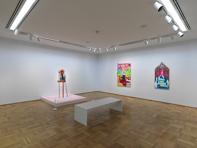 The Gallery installation view