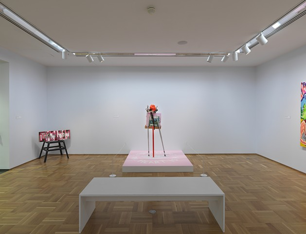 "The ""Gallery"" installation view"