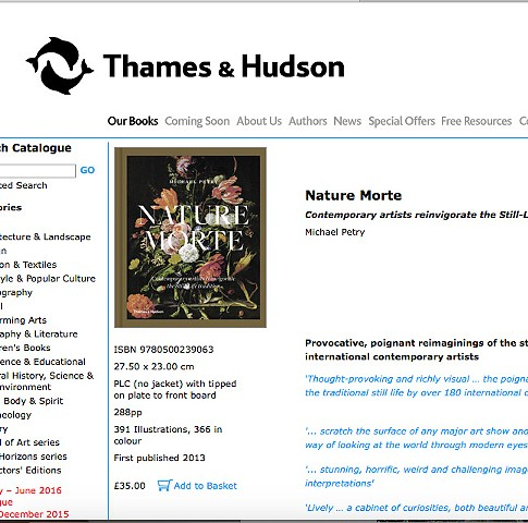 NATURE MORTE (THAMES AND HUDSON)