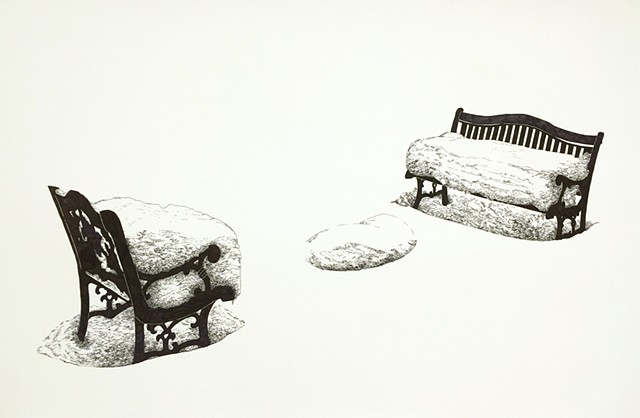 date night (bench and chair)