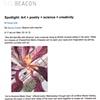 Spotlight: Art + poetry + science = creativity