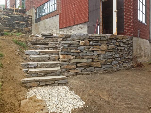 Johnson Retaining Wall (a)