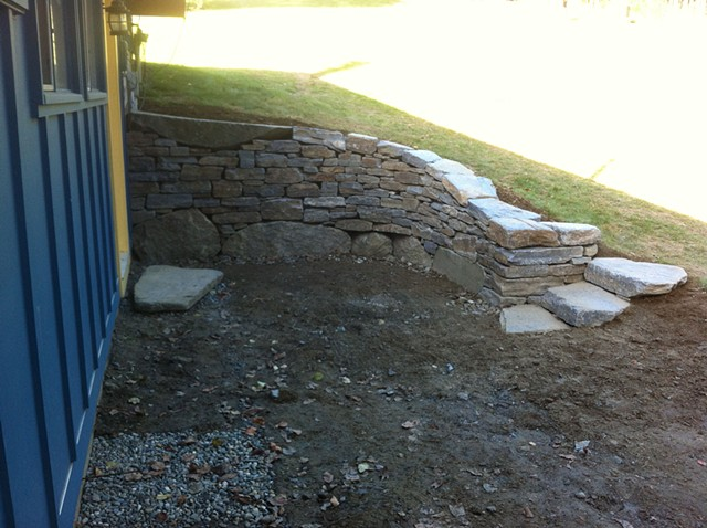 Anderle Retaining Wall (2a)