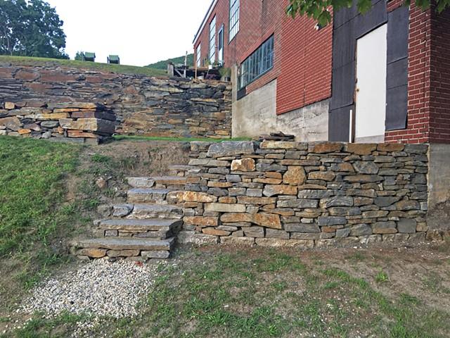 Johnson Retaining Wall (b)