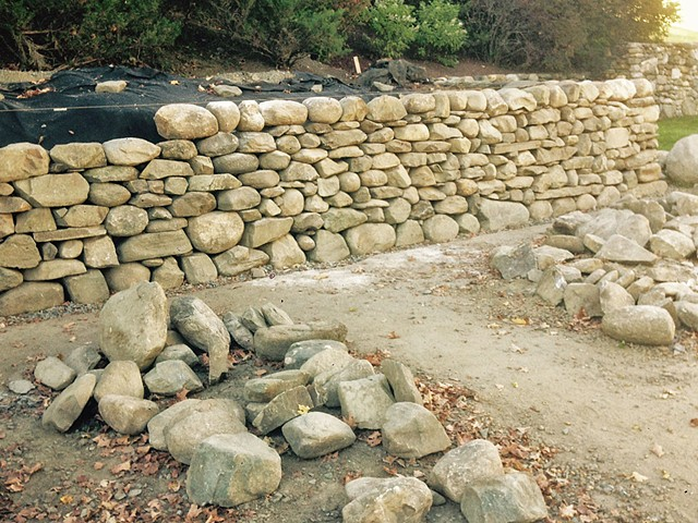 Moskow Retaining Wall (in progress)