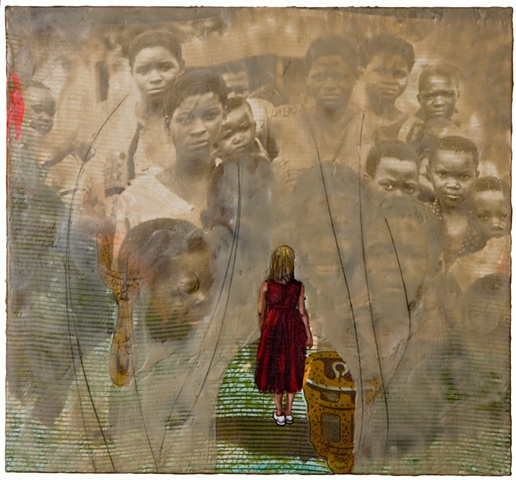 Susanne Mitchell, Mitchell, Susanne, Susie Mitchell, art, artist, drawing, painting, mixed media, encaustic, van dyke, photography, post colonial, post colonialism, narrative art, race, identity, Malawi, Africa