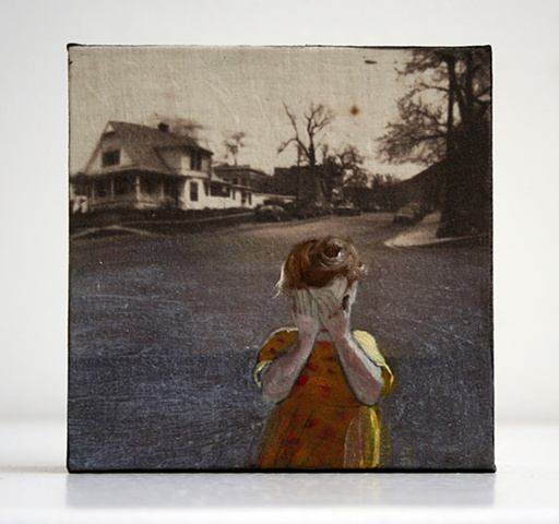 Susanne Mitchell, Mitchell, Susanne, Susie Mitchell, art, contemporary art, contemporary artist, artist, painting, mixed media, encaustic, van dyke, photography, etching, printmaking, miniature painting, narrative art, race, identity, story, childhood, me