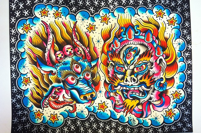 2013 Flash#3 (Tibetan Deities)