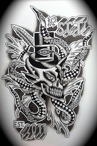SCT Tenti-Skull