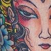 Tibetan Woman Head