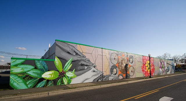 Mural, Augustina Droze, Burien Washington