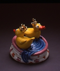 Just Ducky, salt and pepper set