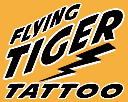 Flying Tiger Tattoo