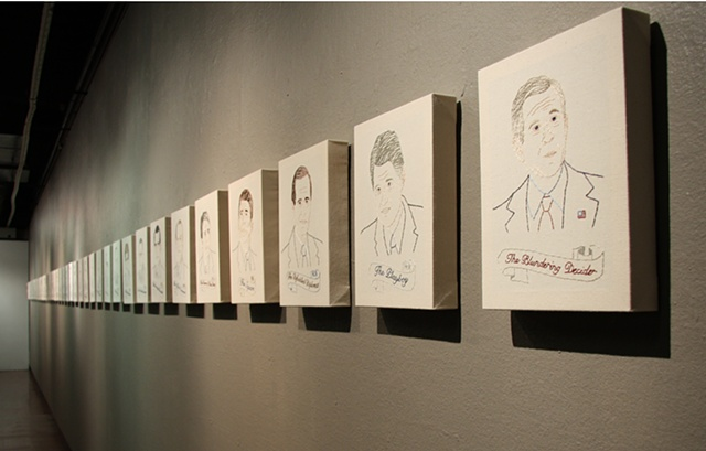 My Presidents Installation View