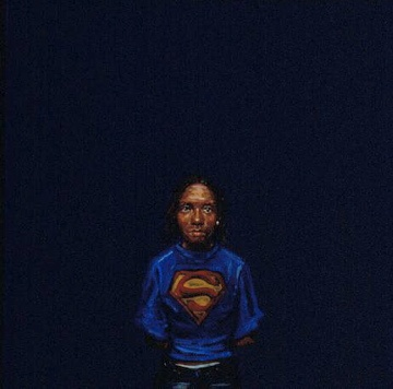 Twanna in a Superman T-Shirt