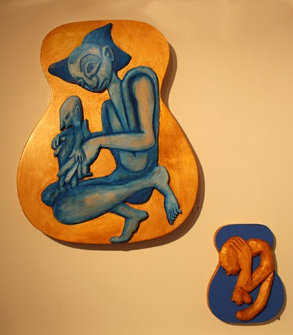 sculpture/painting/printmaking/guitars