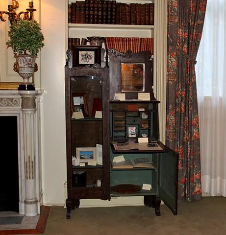 Wilford Woodruff, Sr. Cabinet of Curiosities Installation View