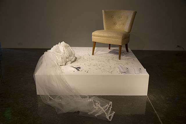 Talena Sanders, Dressed In White