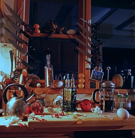 Interior photograph by JoAnn Baker Paul, fine art photography, fine printmaking, digital prints