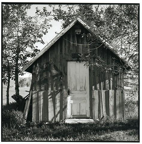 Outbuildings, barns, fine art, photography
