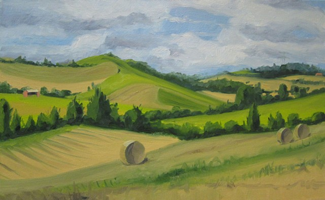 French landscape painting