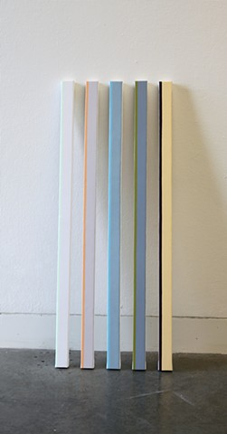 Excerpts from a stripe painting