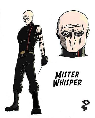 Mister Whisper concept design