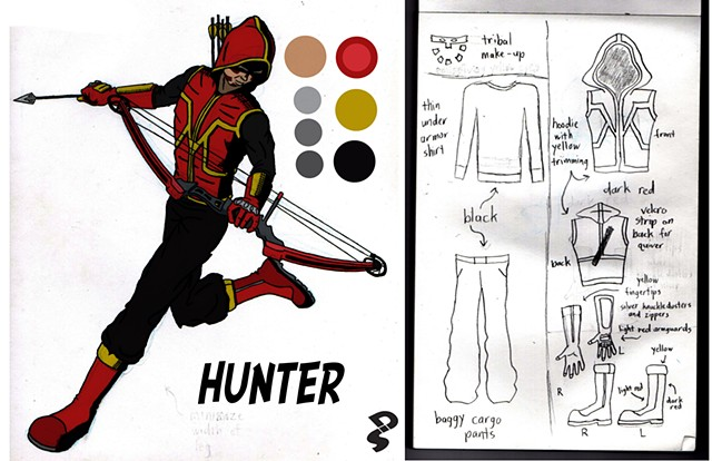 Hunter concept redesign