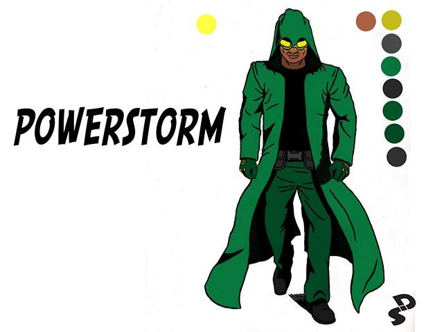 PowerStorm concept redesign