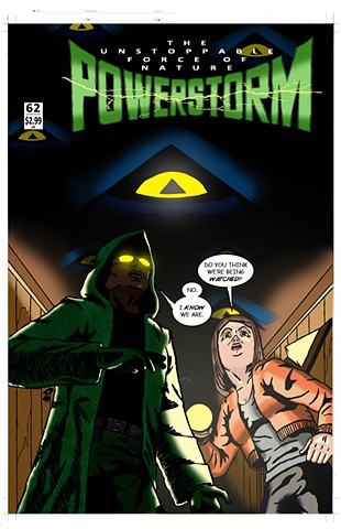 POWERSTORM Issue 62 cover art
