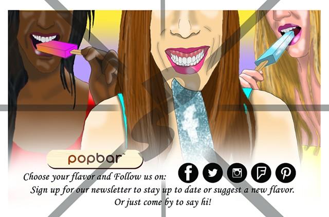 Popbar Newsletter promo