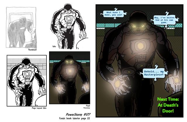 PowerStorm #177 interior page 22 process