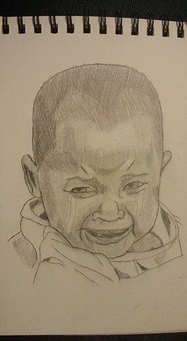 Crying Child close-up