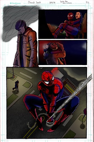 "MCU's ""Spider-Man"" saving civilians. Page 3 of 3"