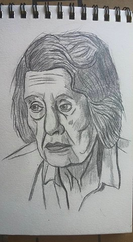 Elderly Lady close-up