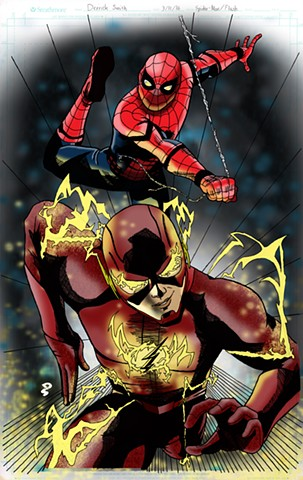 Spider-Man and The Flash