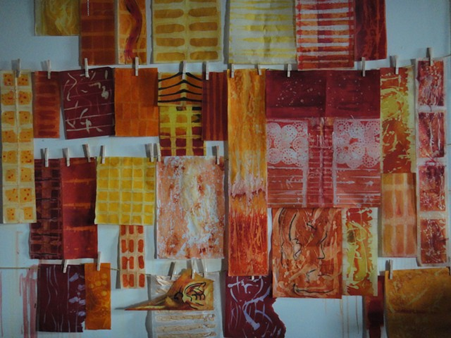 Drying wall for Batik