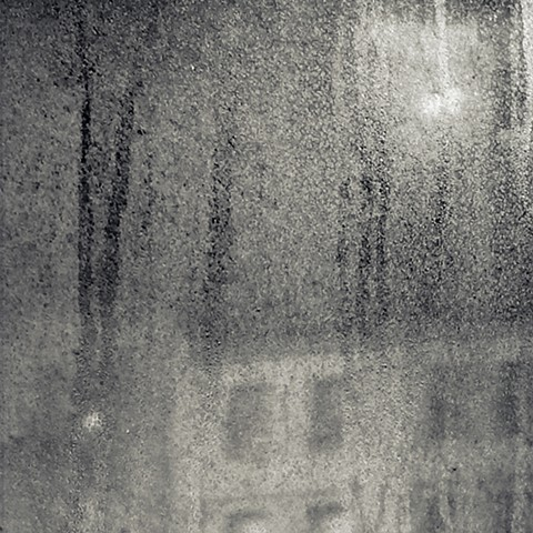 Photograph of Manhattan Valley, Manhattan, NY, through a window, by Judith Ebenstein