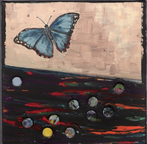 Butterflies & Ghosts 2 SOLD