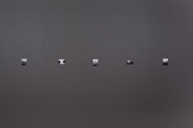 Filling the absence (installation view)